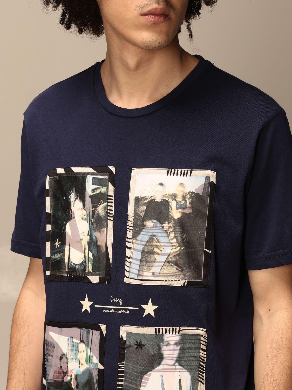 Camiseta Daniele Alessandrini: Jersey hombre Daniele Alessandrini azul oscuro 3