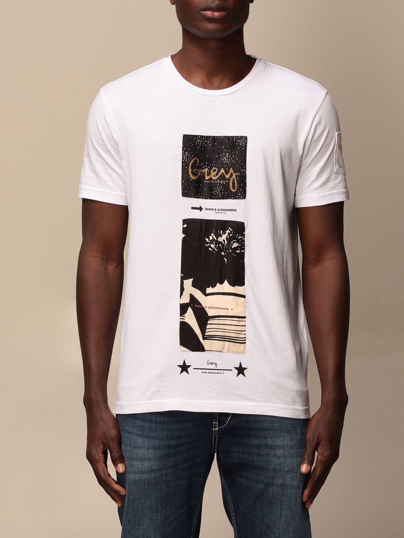 T-shirt Daniele Alessandrini: Daniele Alessandrini printed T-shirt white 1