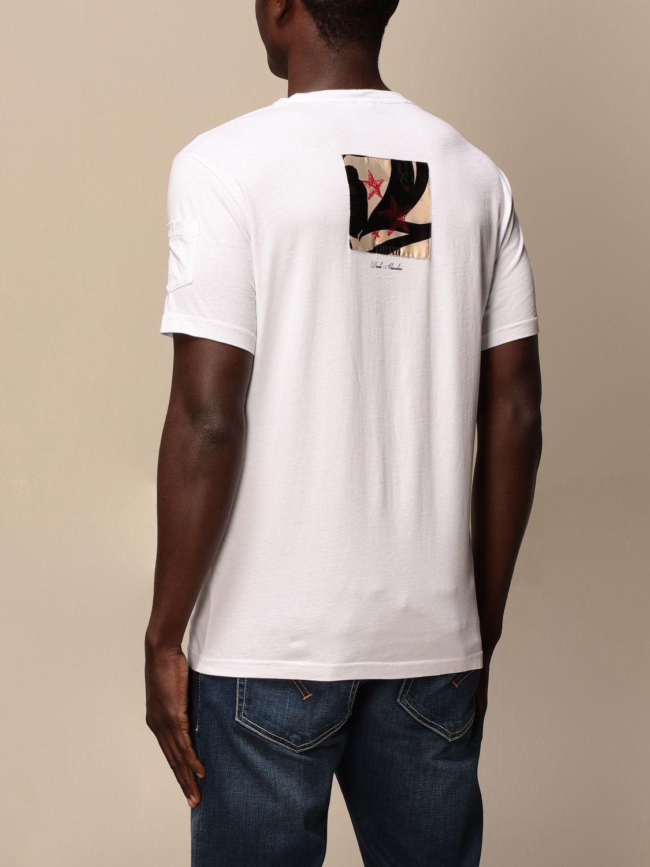 T-shirt Daniele Alessandrini: Daniele Alessandrini printed T-shirt white 2