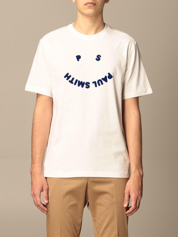 T-shirt Paul Smith London: T-shirt Paul Smith London con stampa bianco 1
