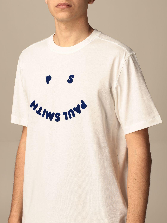 T-shirt Paul Smith London: T-shirt Paul Smith London con stampa bianco 3