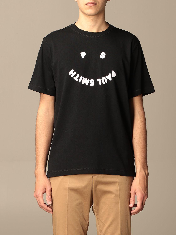 T-shirt Paul Smith London: T-shirt Paul Smith London con stampa nero 1