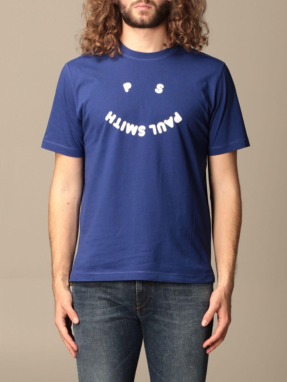 T-shirt Paul Smith London: T-shirt Paul Smith London con stampa blue 1
