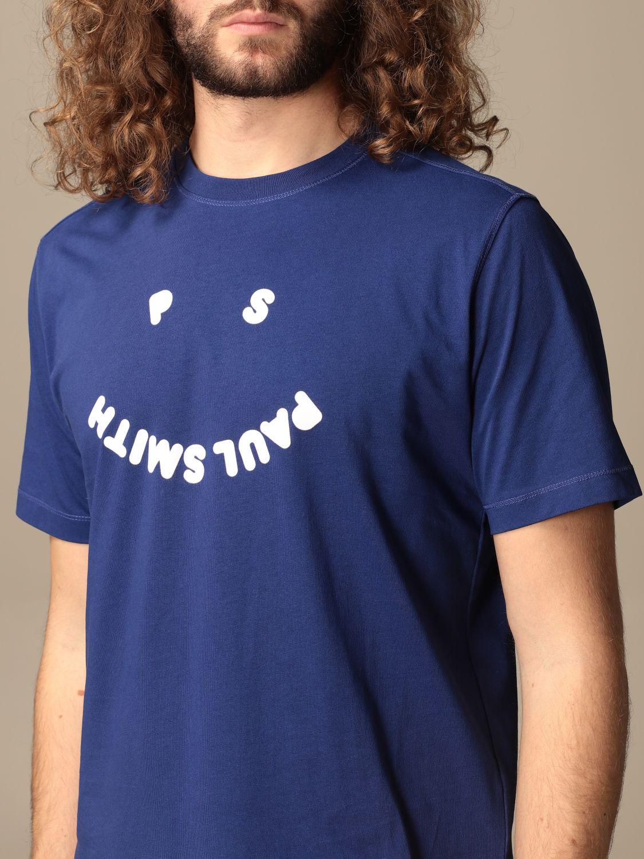 T-shirt Paul Smith London: T-shirt Paul Smith London con stampa blue 3