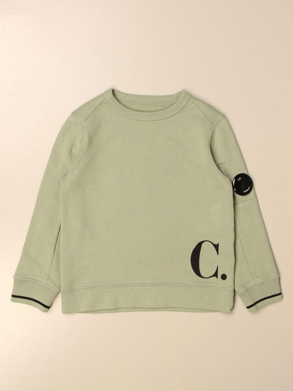 Jersey C.p. Company: Jersey niños C.p. Company verde 1