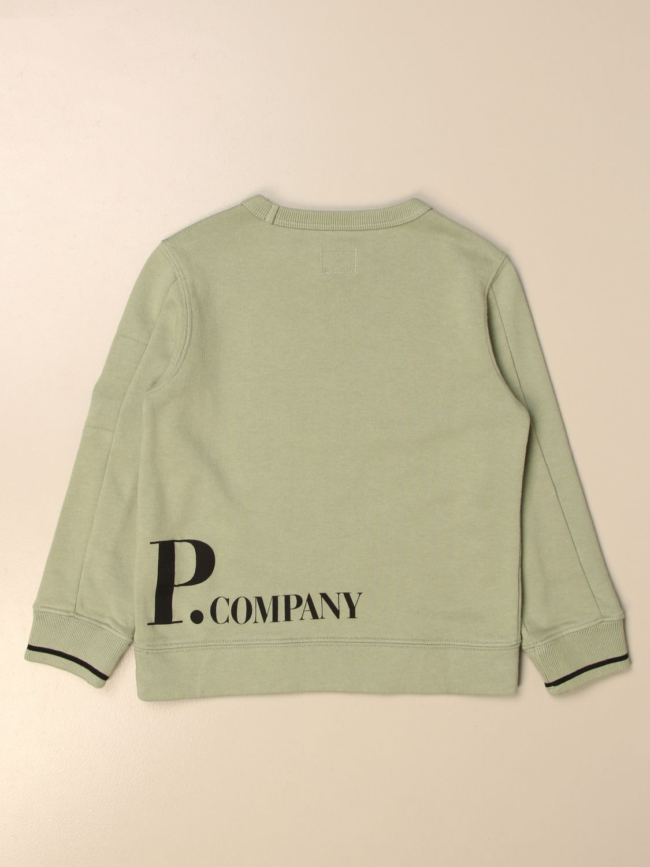 Jersey C.p. Company: Jersey niños C.p. Company verde 2