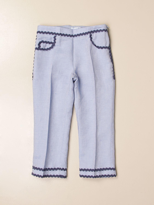 Pants Mi Mi Sol: Pants kids Mi Mi Sol sky blue 1