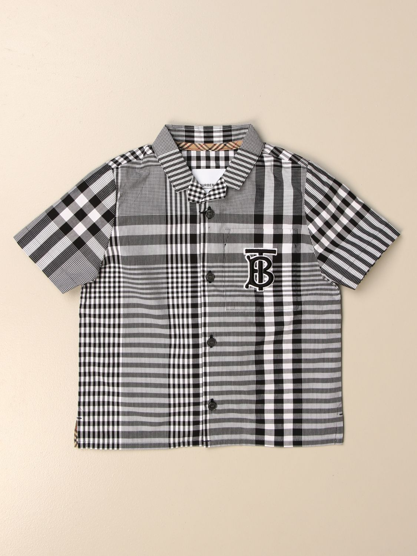 Camisa Burberry: Camisa niños Burberry negro 1