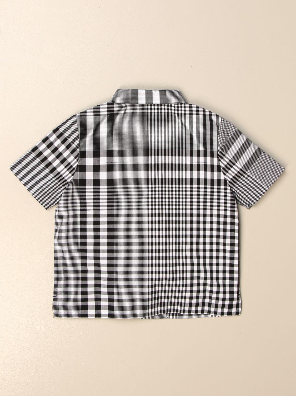 Camisa Burberry: Camisa niños Burberry negro 2