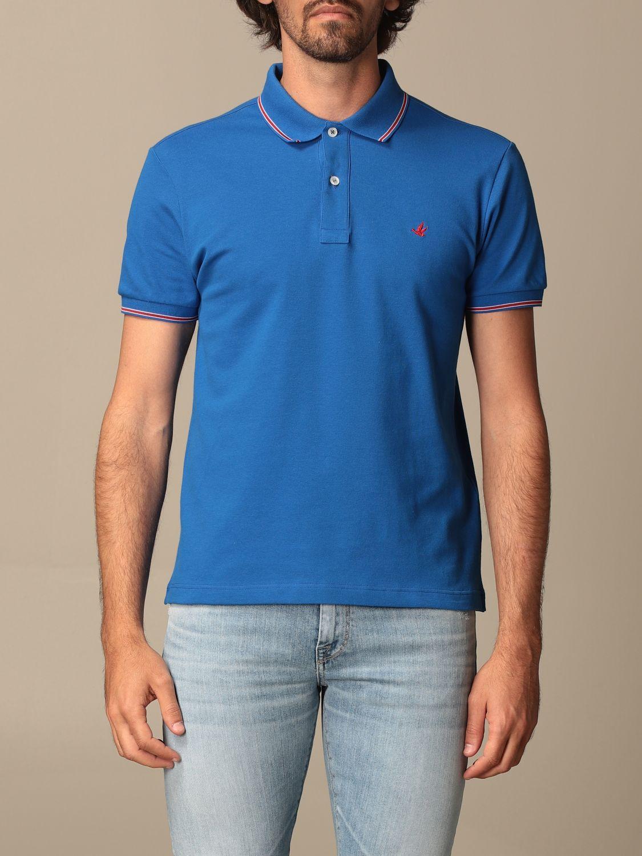 Polo shirt Brooksfield: Jumper men Brooksfield blue 1 1