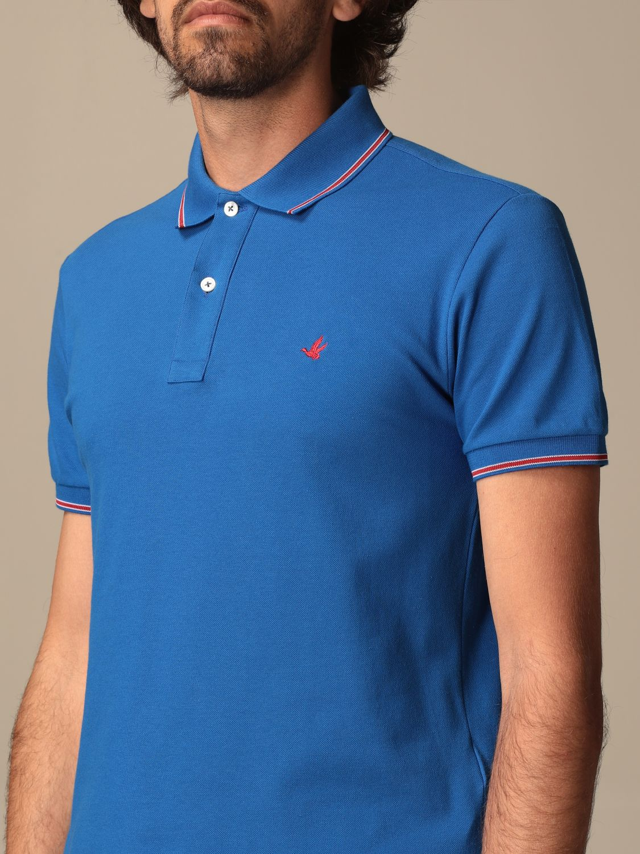 Polo shirt Brooksfield: Jumper men Brooksfield blue 1 3