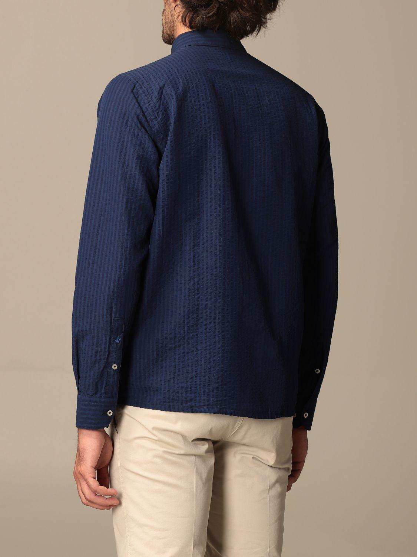 Shirt Brooksfield: Brooksfield basic shirt with micro stripes blue 2