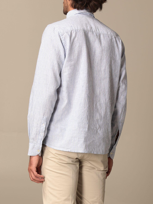 Shirt Brooksfield: Brooksfield shirt with micro stripes blue 2