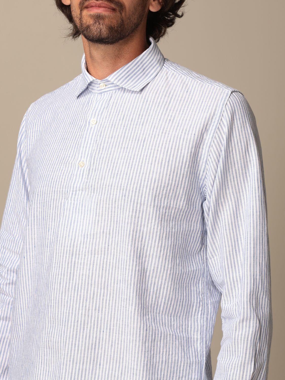 Shirt Brooksfield: Brooksfield shirt with micro stripes blue 3