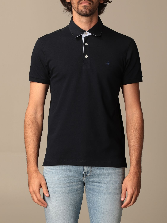 Polo shirt Brooksfield: Jumper men Brooksfield navy 1