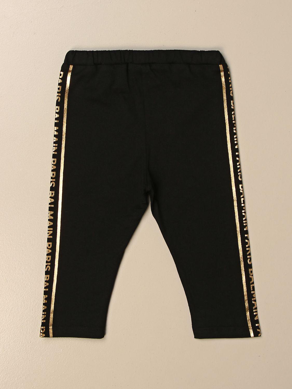 Pantalón Balmain: Pantalón niños Balmain negro 2