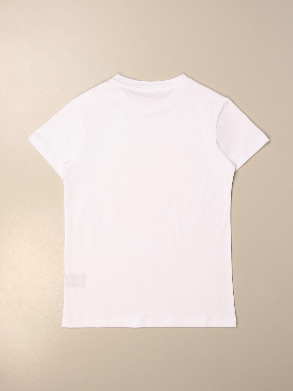 Camisetas Balmain: Camisetas niños Balmain blanco 2