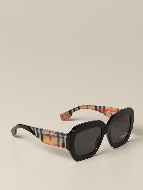 Солнцезащитные очки Burberry: Солнцезащитные очки Женское Burberry черный 1
