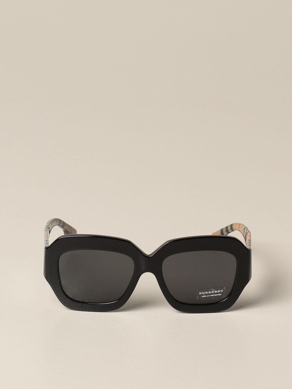 Солнцезащитные очки Burberry: Солнцезащитные очки Женское Burberry черный 2