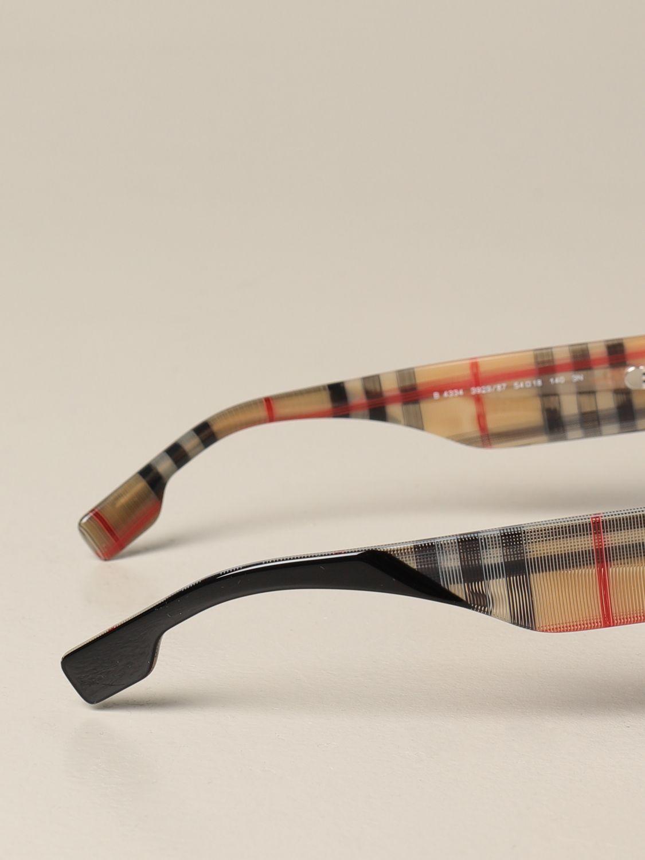 Солнцезащитные очки Burberry: Солнцезащитные очки Женское Burberry черный 3