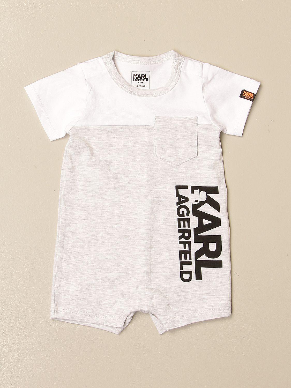 Tracksuit Karl Lagerfeld Kids: Tracksuit kids Karl Lagerfeld Kids grey 1