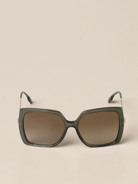Солнцезащитные очки Burberry: Солнцезащитные очки Женское Burberry зеленый 2