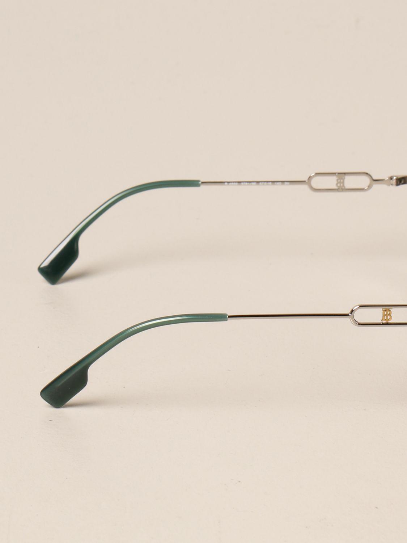 Солнцезащитные очки Burberry: Солнцезащитные очки Женское Burberry зеленый 3