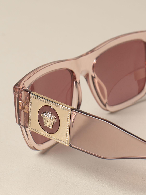 Солнцезащитные очки Versace: Солнцезащитные очки Женское Versace розовый 4
