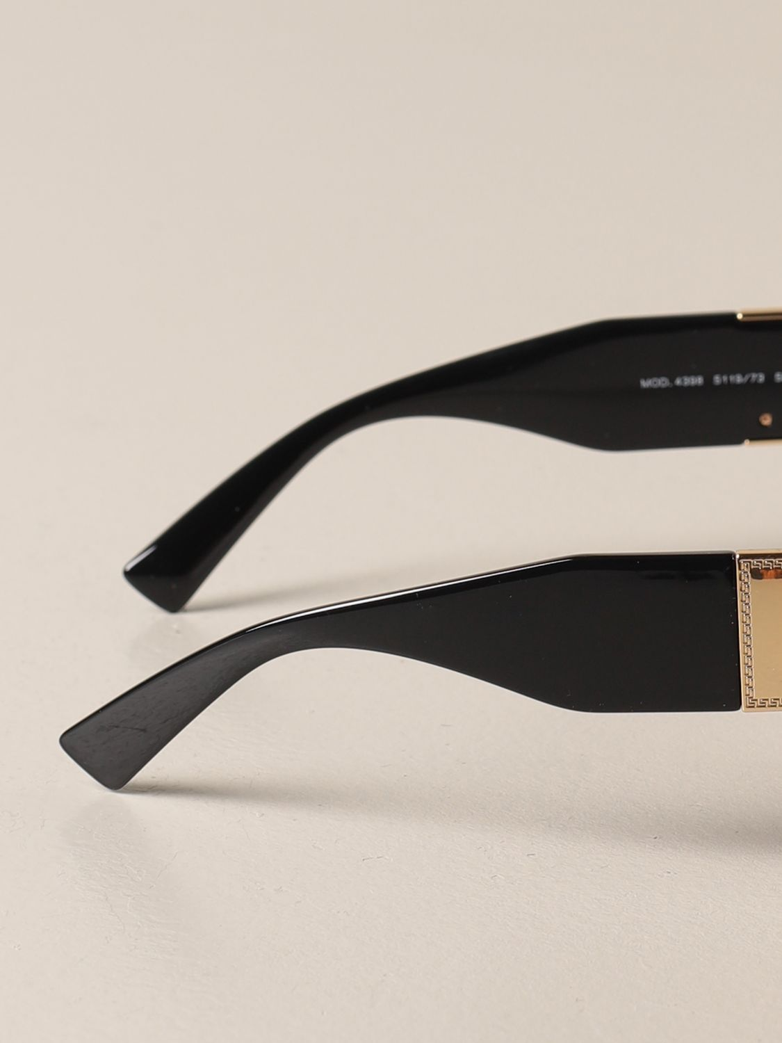 Glasses Versace: Versace sunglasses in acetate with a medusa head brown 3