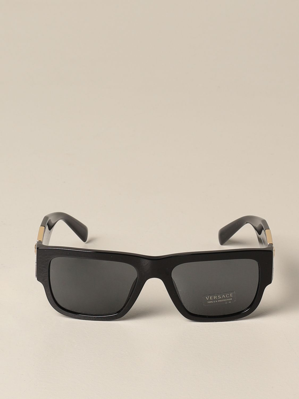 Солнцезащитные очки Versace: Солнцезащитные очки Мужское Versace черный 2