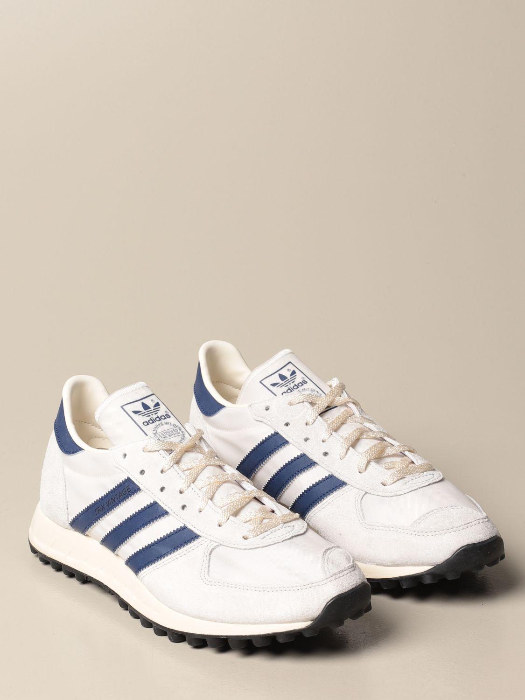 Trainers Adidas Originals: TRX Vintage Adidas Originals sneakers in suede and nylon white 2