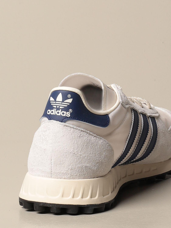 Trainers Adidas Originals: TRX Vintage Adidas Originals sneakers in suede and nylon white 3