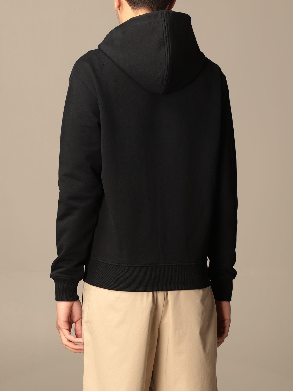 Sweatshirt Ami Alexandre Mattiussi: Sweatshirt homme Ami Alexandre Mattiussi noir 3