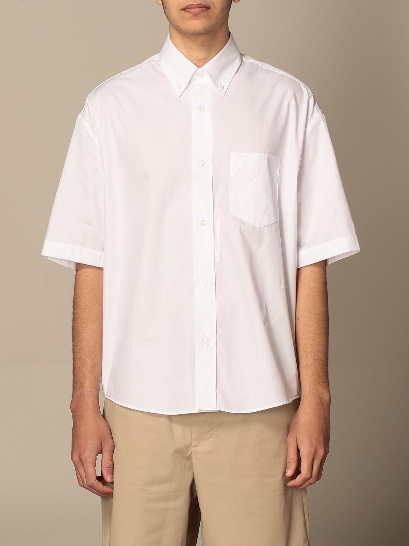 Shirt Ami Alexandre Mattiussi: Ami Alexandre Mattiussi cotton shirt white 1