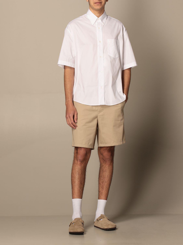 Shirt Ami Alexandre Mattiussi: Ami Alexandre Mattiussi cotton shirt white 2