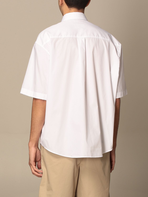Shirt Ami Alexandre Mattiussi: Ami Alexandre Mattiussi cotton shirt white 3