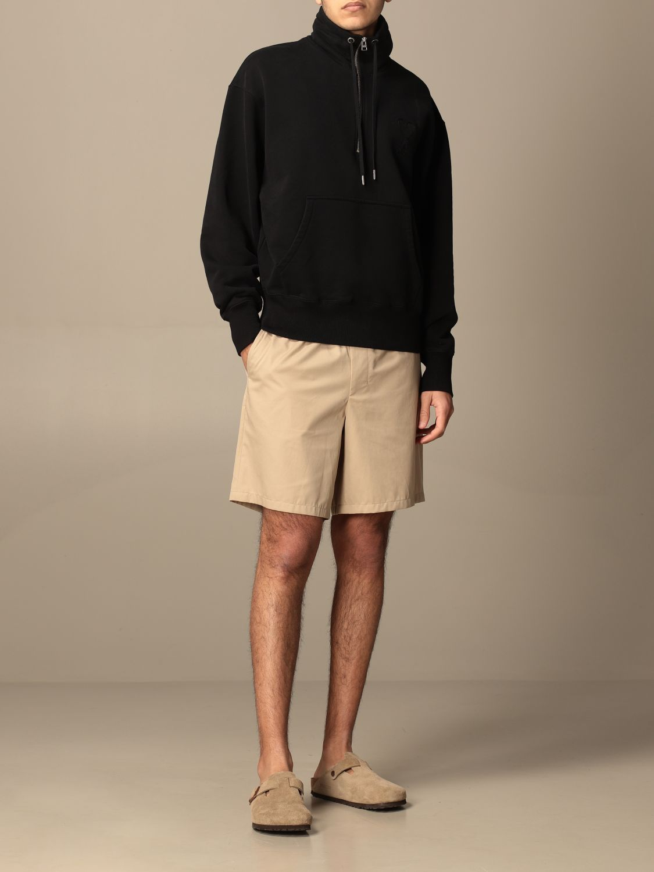 Sweatshirt Ami Alexandre Mattiussi: Sweatshirt men Ami Alexandre Mattiussi black 2