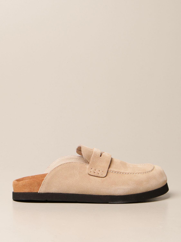 Flache Schuhe Semicouture: Schuhe damen Semicouture beige 1