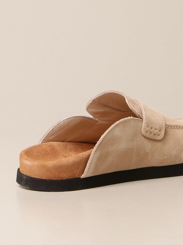 Flache Schuhe Semicouture: Schuhe damen Semicouture beige 3