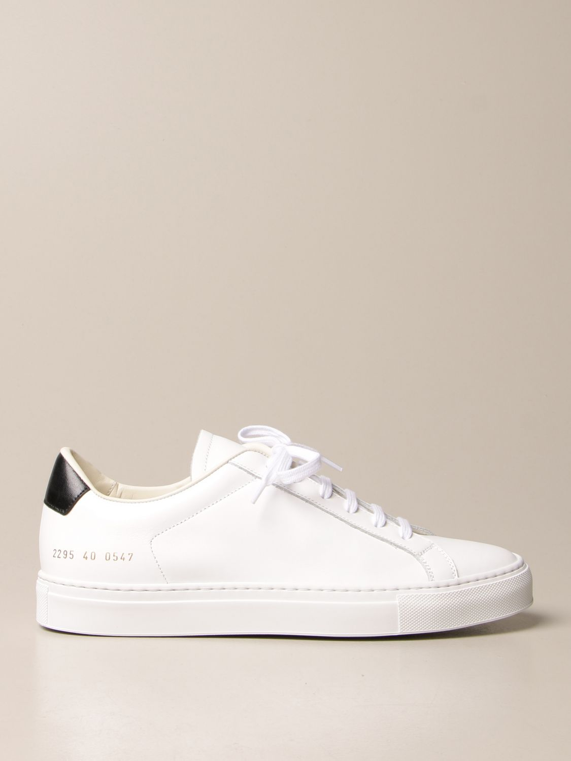 Baskets Common Projects: Baskets homme Common Projects blanc 1
