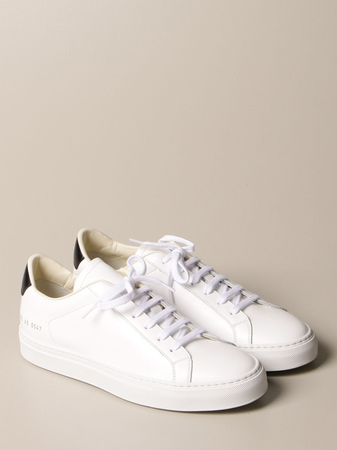 Baskets Common Projects: Baskets homme Common Projects blanc 2