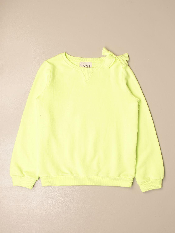 Sweater Douuod: Sweater kids Douuod yellow 1