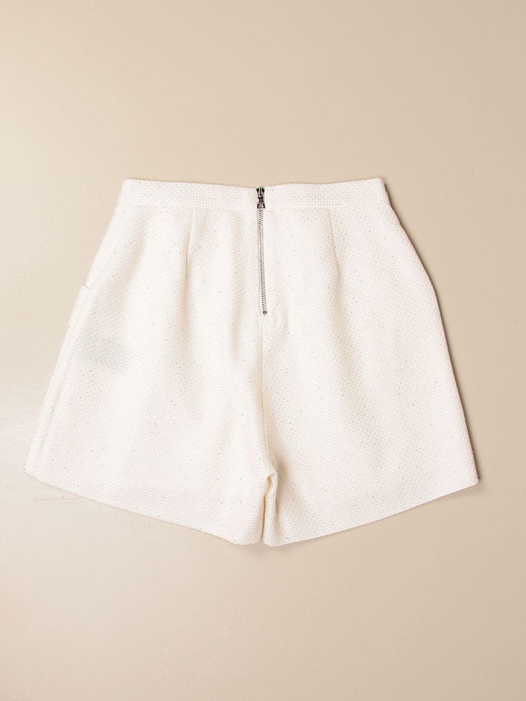 Pantalones cortos Balmain: Pantalones cortos niños Balmain marfil 2