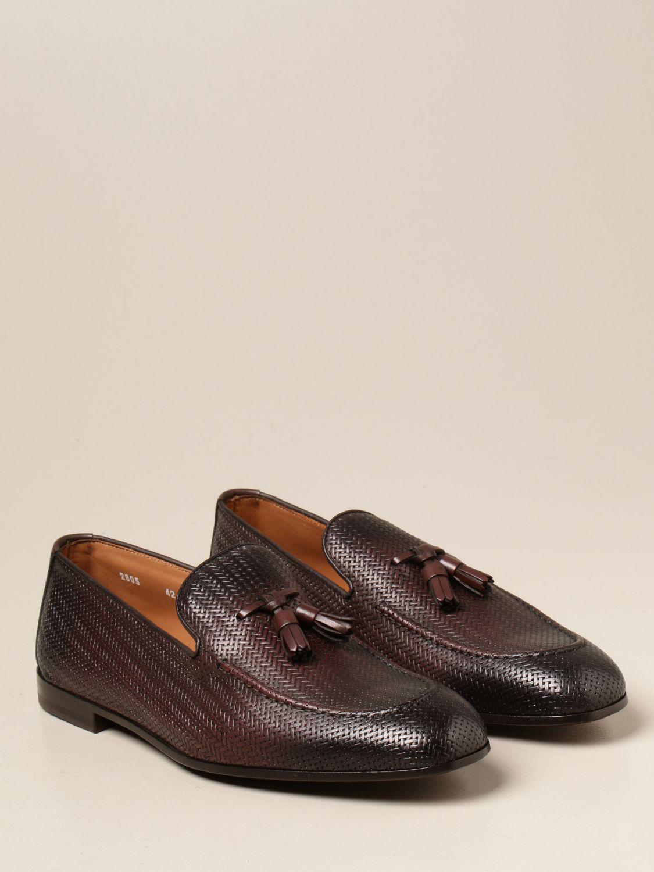 Mocasines Doucal's: Zapatos hombre Doucal's marrón oscuro 2