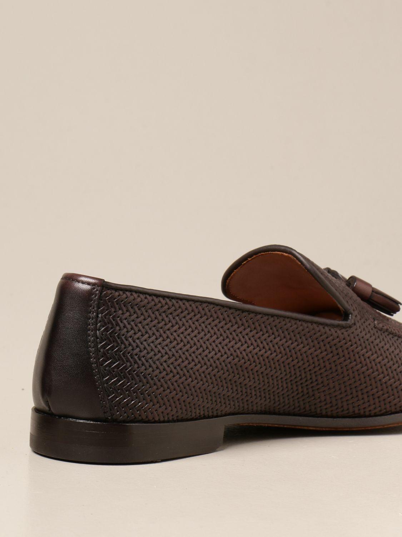 Mocasines Doucal's: Zapatos hombre Doucal's marrón oscuro 3