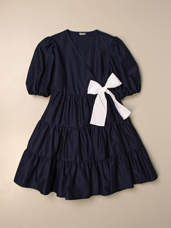 Robe Il Gufo: Robe enfant Il Gufo bleu 1 1