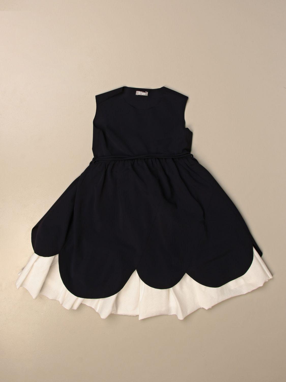 Robe Il Gufo: Robe enfant Il Gufo noir 1