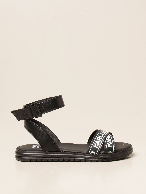 Zapatos Karl Lagerfeld Kids: Zapatos niños Karl Lagerfeld Kids negro 1
