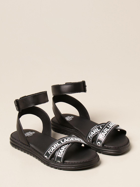 Zapatos Karl Lagerfeld Kids: Zapatos niños Karl Lagerfeld Kids negro 2