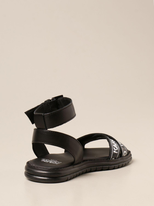 Zapatos Karl Lagerfeld Kids: Zapatos niños Karl Lagerfeld Kids negro 3